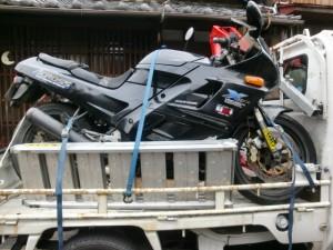 廃車バイク
