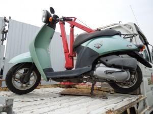 回収処分バイク