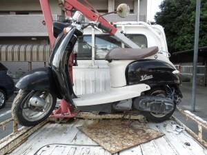 廃棄バイク
