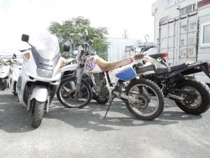 バイク回収