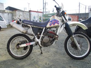 ホンダ XL250Rバハ MD22型