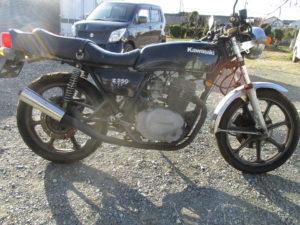 カワサキ Z250FT KZ250A型