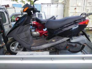 ヤマハ アクシストリート125 SE53J型