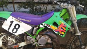 カワサキ KX125 KX125K型